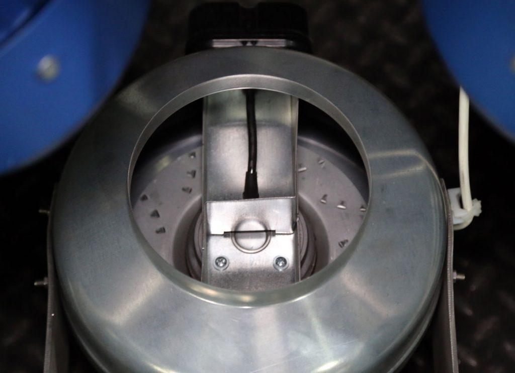система обдува мотор-редукторов