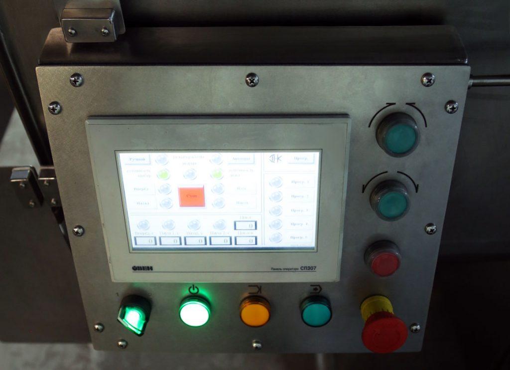 Сенсорная панель пульта управления